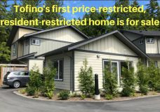 One lucky buyer will soon be able to purchase $210K Tofino townhouse