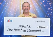 Sidney man wins $500,000 from Lotto 6/49, 15 years after life-changing accident