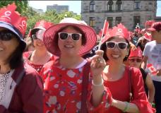 Oh Canada: Thousands celebrate Canada Day in Victoria