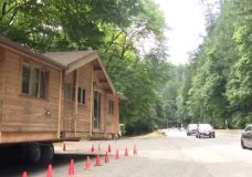This house will be moved up the Malahat on Aug. 31, 2018.