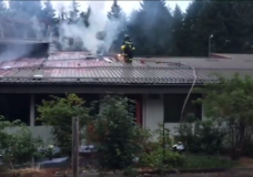 Police identify person of interest, say fire at Hornby Island school was suspicious