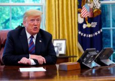 U.S. newspaper reports President Donald Trump paid no federal income tax in 10 of past 15 years