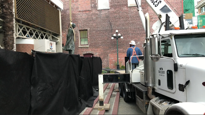 Cost of removing Victoria's John A. Macdonald statue now at $30,000