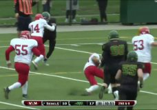 Rebels see playoff hopes diminish with tough loss to Valley Huskers
