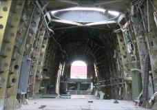 Lancaster Bomber FM104 arrives at BC Aviation Museum