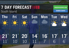 Ed's Forecast: Another sunny day is forecast for Friday but rain makes an appearance by Sunday