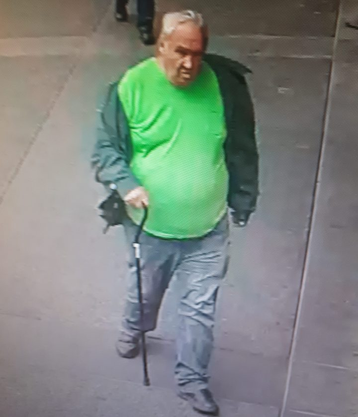 A photo of missing 67 year-old Caucasian man Ronald White (Photo Victoria Police)