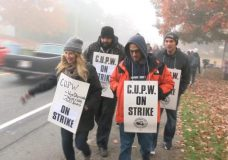 Rotating Canada Post strike hits Victoria first as workers send a message