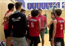 Claremont Sr. boys have eyes set on volleyball provincial title