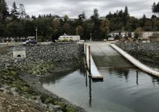 After being closed over the summer, the Big Rock Boat Ramp has reopened in Campbell River. The first phase of upgrades is complete. Photo courtesy the City of Campbell River.
