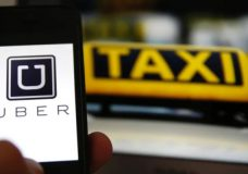 The B.C. government has introduced ride-hailing legislation. (Reuters). Photo courtesy of the CBC.