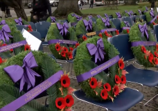 Thousands across Vancouver Island pay tribute on Remembrance Day