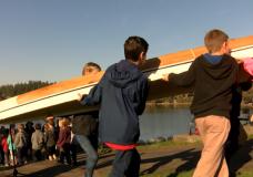 Pauquachin canoe launch
