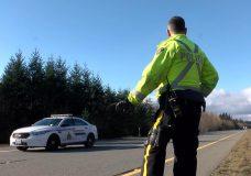 Road safety checkstop held near Qualicum Beach