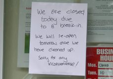 Parksville-Qualicum Beach SPCA branch closed and without power after break-in