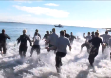 Hundreds brave frigid waters in Victoria for Special Olympics BC