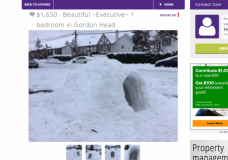 Jokesters in Victoria take to classifieds after snow storm with dig at housing crisis