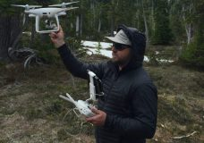 VIU researchers use drones to study mountain snow pack to assess Vancouver Island water supplies