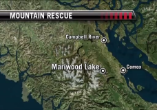 Three people and a dog stranded in Strathcona Park