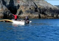 Man recounts dramatic rescue after his canoe capsized off Becher Bay