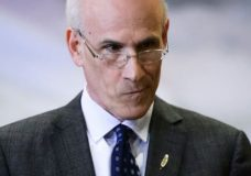 Michael Wernick attends a swearing in ceremony at Rideau Hall in Ottawa on Friday, March 1, 2019. He announced plans to step down as clerk of the Privy Council less than a month later. (Sean Kilpatrick/Canadian Press). Photo courtesy of CBC