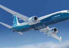 The Boeing 737 Max 8 entered commercial use in 2017 and can carry up to 210 passengers. (Boeing)