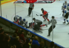 Tensions boil over as Vees best Capitals in game five