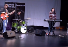 Bringing mental health conversation to schools through music