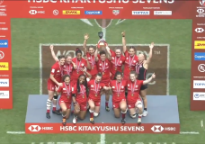 Canadian Women Sevens capture gold in Japan