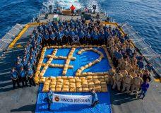 Esquimalt-based HMCS Regina seizes three tonnes of hash in second large drug seizure