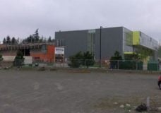 Construction at Royal Bay Secondary School is underway.