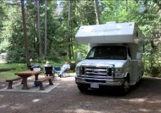 Vancouver Island provincial parks already filling up with campers