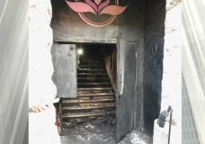 Damage caused by a fire at a former business on Broad Street (Photo: Mirko Filipovic — Themis Security)