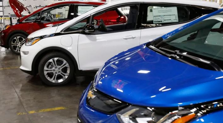 The Chevrolet Bolt, one of Canada's most popular electric car, is among the vehicles eligible for federal rebates that came into effect Wednesday. (Duane Burleson/Associated Press). Photo courtesy of CBC.