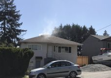 Firefighters put out fire and save Saanich house Wednesday