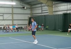 Canadian tennis greats take the court with Victoria's rising stars