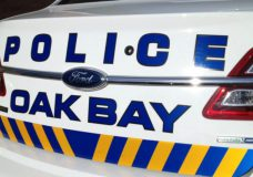 Driver caught running stop sign in Oak Bay asks officer if they want to be on TikTok