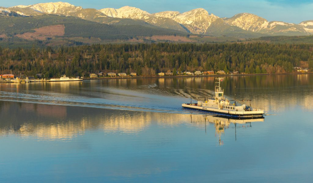 Buckley Bay-Denman Island West ferry returns to service after cable system repairs