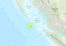 5.8 magnitude earthquake hits north of Vancouver Island, no tsunami expected