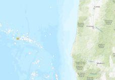 M6.3 quake strikes off the coast of Oregon, no tsunami expected