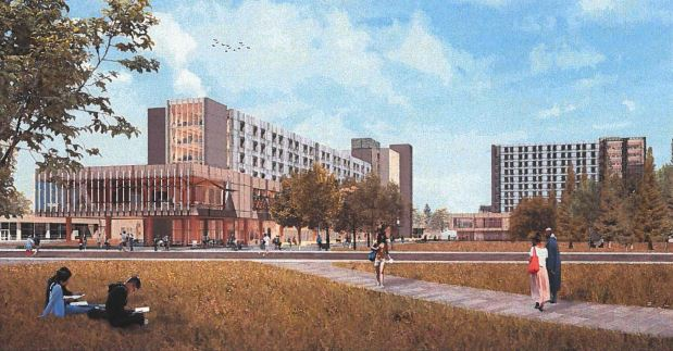 New student housing building will be tallest on UVic's campus