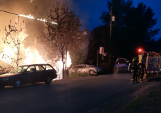 One in hospital, multiple families displaced after major fire in Cumberland