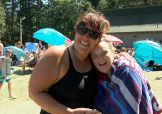5 km swim completed by woman with Down Syndrome