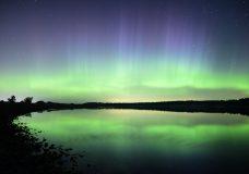 Aurora borealis and meteors light up Vancouver Island skies