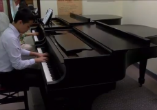 This year's Symphony Splash soloist, 14-year-old Carey Wang, has been playing piano for 10 years. But it's a special bond between teacher and student that has helped him flourish into a musician capable of playing alongside a professional symphony orchestra.