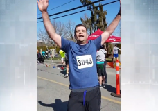 """""""It has definitely given me a new lease on life:"""" Kidney transplant recipient aiming to run Victoria marathon"""