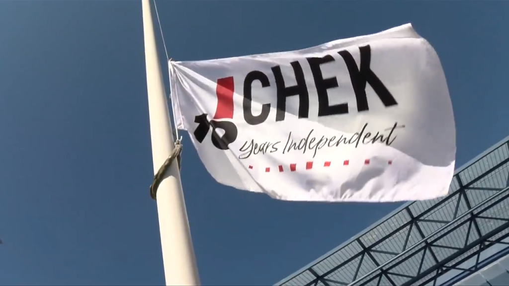 CHEK is celebrating its 10th anniversary as an independent TV station.