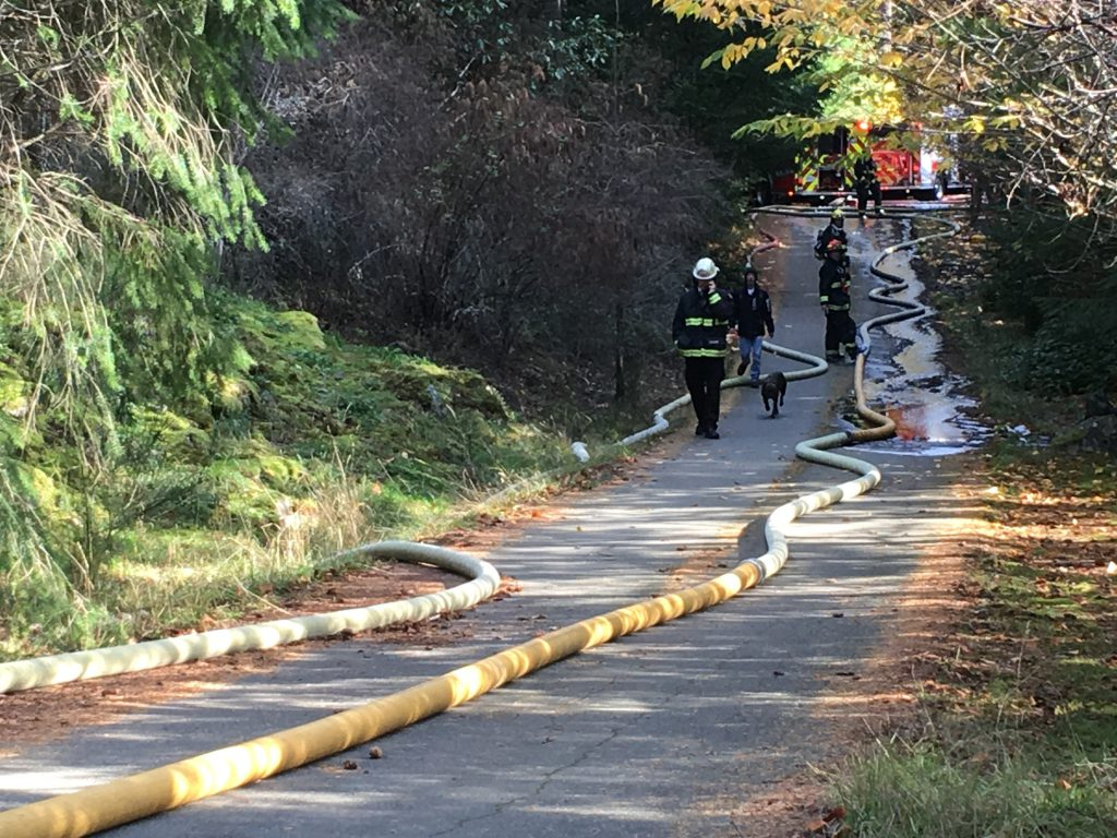 Occupants safe following house fire in north Nanaimo