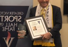 Former CHEK Sports anchor is inducted into the Greater Victoria Sports Hall of Fame