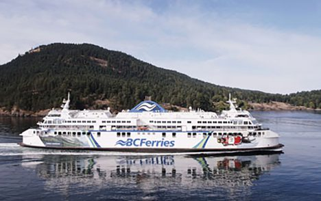 BC Ferries cancels numerous sailings due to high winds